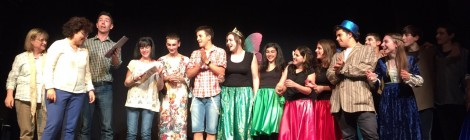 PRIMER PREMI  A LA FINAL DEL TRINITY SHAKESPEARE THEATRE COMPETITION!