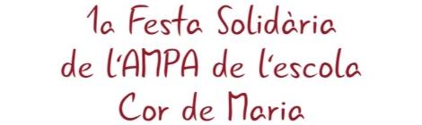 1a Festa Solidària de l'AMPA