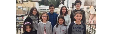 Alumnes guanyadors del XXè Concurs  Teresa Terrada