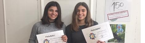 Laura Agustí i Vera i Paula Palomares i Proenza
