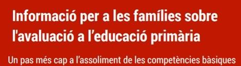 Nova avaluació a l'Educació Primària.