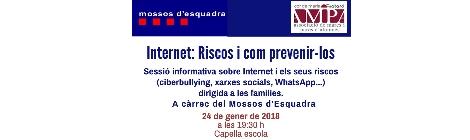 Internet: Riscos i com prevenir-los