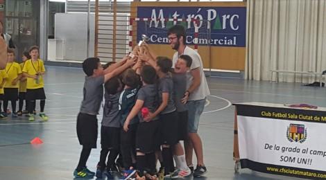Campions de la IIIa edició de la Copa Escolar de futbol sala