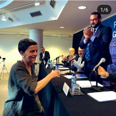La nostra professora, Mònica Vilert, ha estat guardonada amb el premi Torres García-Ciutat de Mataró