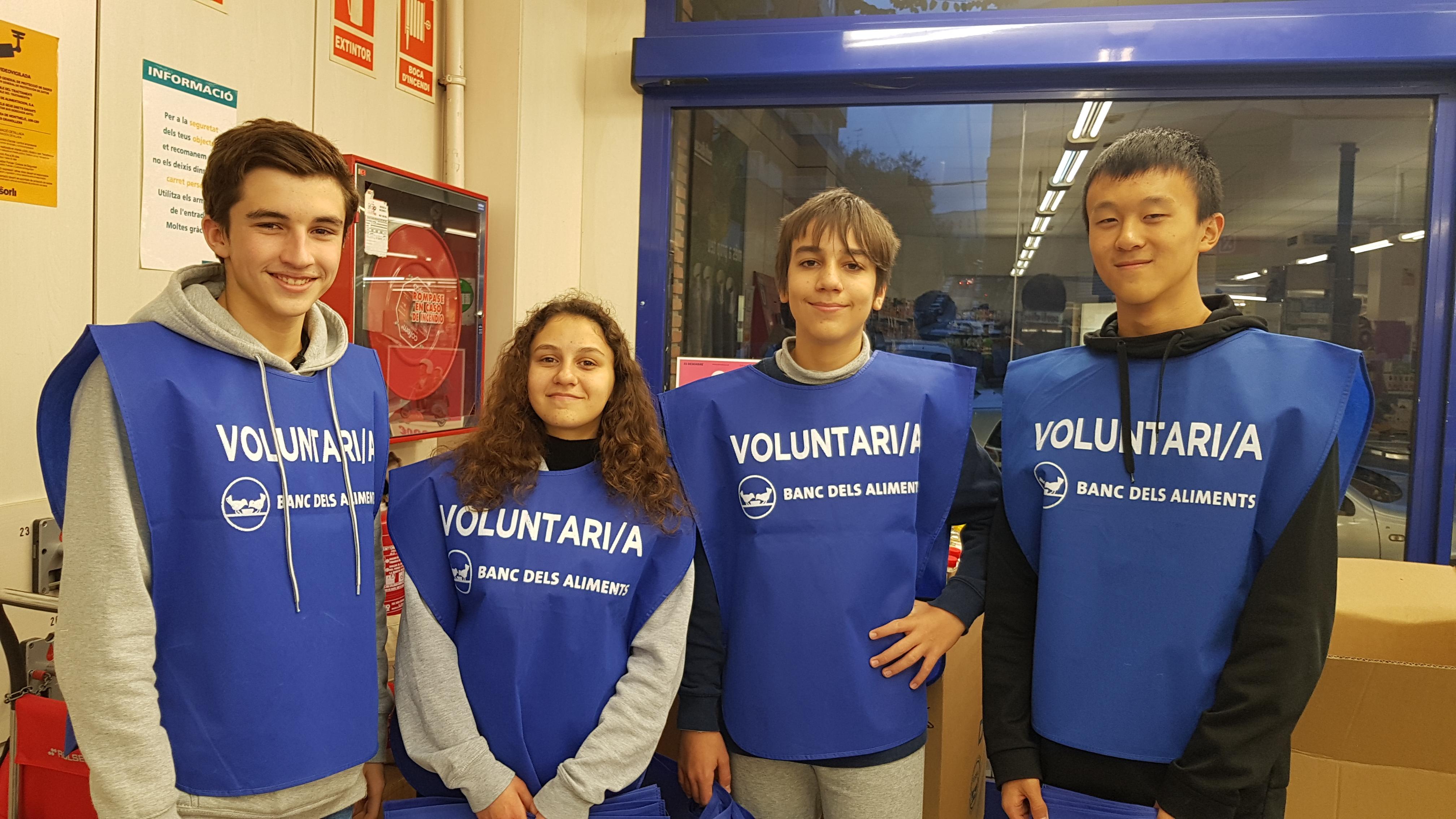 Els alumnes de 4t d'ESO inicien el Servei Comunitari